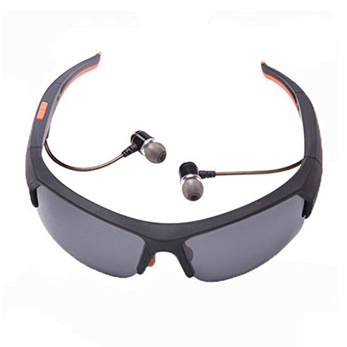 Wireless Bluetooth Sunglasses for Men Effectively Prevent Ultraviolet Rays and Harmful Blue Light Polarized Sports Sunglasses Support Wireless Headset and Hands-free