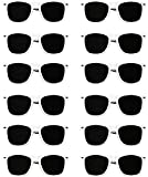 White Sunglasses Bulk Wedding-Bachelorette Party Pack of 12 Premium Quality Sturdy Frames-Lenses Sunglasses Fit Adults Exactly What Your Looking For In Wedding-Bachelorette Party Sunglasses Ladies Men