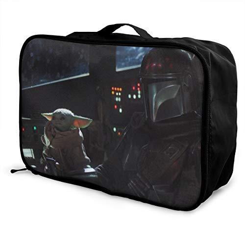 Star Wars Travel Duffel Borsone impermeabile alla moda leggero grande capacità portatile bagagli
