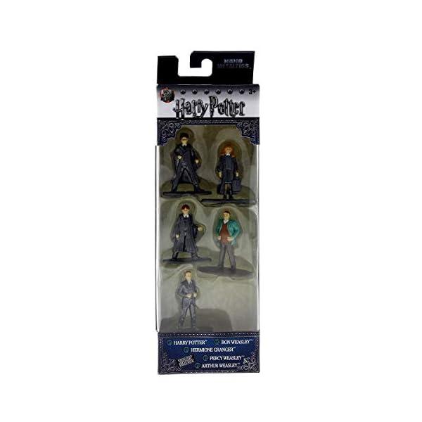 Jada- Nano MetalsFig Pack 5 figuras Harry Potter, (JADA98666), modelos surtidos, 1 pack 2