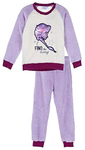 Disney Frozen Elsa Teddy - Pijama de forro polar