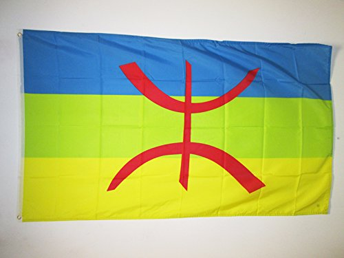 AZ FLAG Flagge KABYLEI 150x90cm - Berber Fahne 90 x 150 cm - flaggen Top Qualität