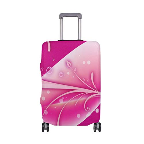 Travel Lage Cover Pink Series Abstract Dream Love Suitcase Protector Fits 26-28 Inch Washable Baggage Covers