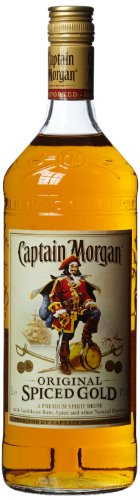 Captain Morgan Spiced Gold Jamaika 1,0 Liter