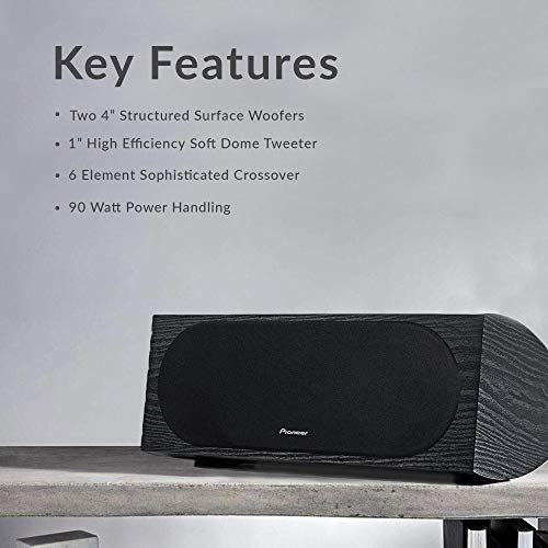 Pioneer SP-C22 Andrew Jones Home Audio Center Channel Speaker Colorado