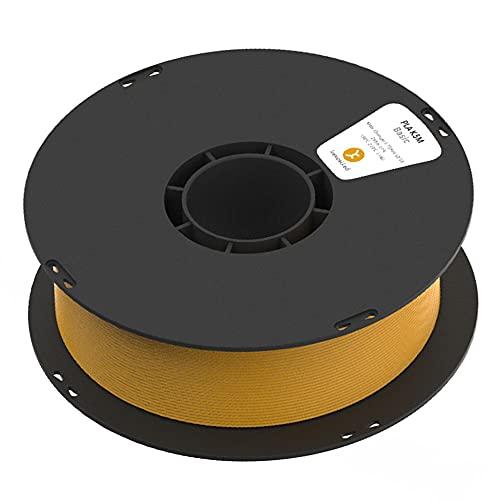 3D Printer Filament, PLA K5M Filament, Matte Texture, for 3d Printers and 3d Pens, 1.75mm, 1kg Spool-Orange_1.75mm