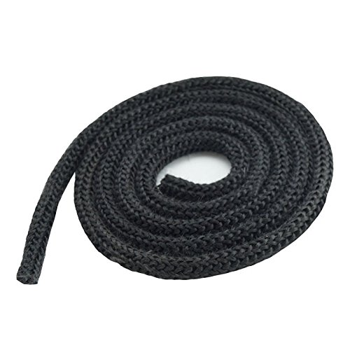 Dichtschnur Kordel für Kaminöfen schwarz/anthrazit rund 20mm