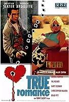 トゥルーロマンス映画クリスチャンスレーターパトリシアアークエットデニスポスター絵画ウォールアートリビングルームの装飾 - フレームレス