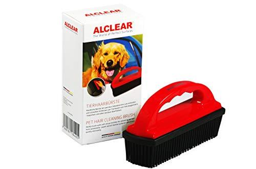 ALCLEAR 9519 Tierhaarbürste, befreit Autositze, Teppiche, Kofferraum spielend leicht von allen Hundehaaren