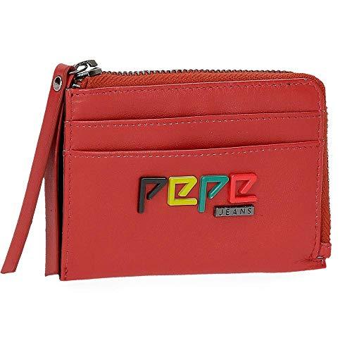 Monedero con tarjetero Pepe Jeans Mandala Rojo