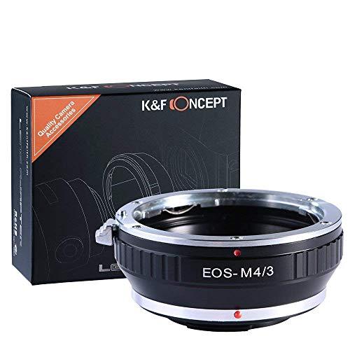 K&F Concept - Adaptador Objetivo para Canon EOS EF EF-SMount a Montura...