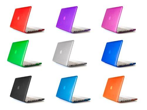 mCover hochwertigem Polycarbonat Hülle Schutzhülle Notebooktasche Hard - Shell - Case Tasche / Hartschale für Apple Macbbok Pro 13 Zoll (Modell A1278 mit DVD, Nicht für Macbook Pro 13 Zoll Retina Display) - Transparent