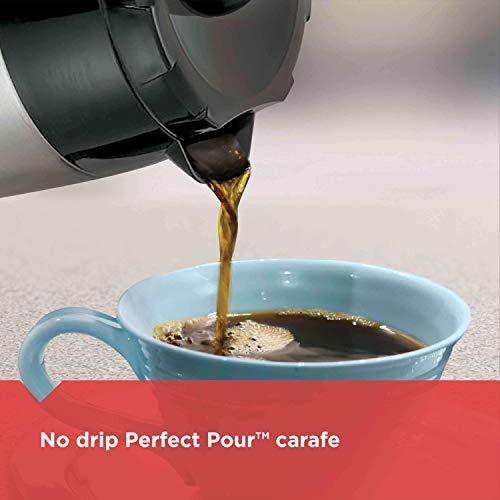 Cafetière Thermique Black & Decker Noir et Argent, Capacité 12 Tasses CM2036SC - 5