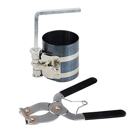 Cuasting - Pinza per pistone a cricchetto e pistone installatore, 2 pezzi