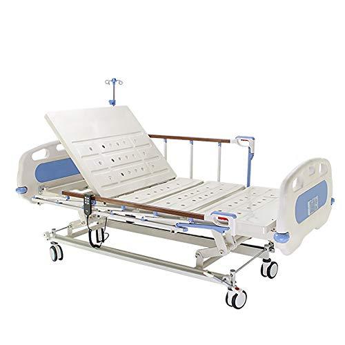 Électrique physiothérapie lit, multi fonctionnelle lit médicalisé réglable, Personnes handicapées Utilisé lit d'hôpital électrique en métal