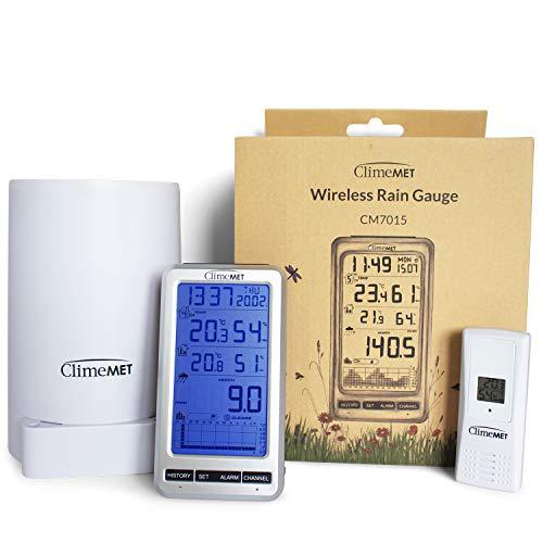 ClimeMET CM7015 Wireless Rain Gaug