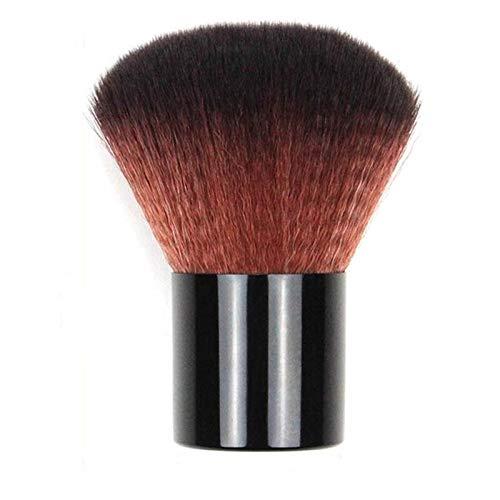 LSWL 1set Big Black Pinceaux poudre brosse cosmétiques visage fard à joues Contour Brosse Kabuki Brosse à ongles Outils de maquillage avec sac Sculpting (Color : Black)