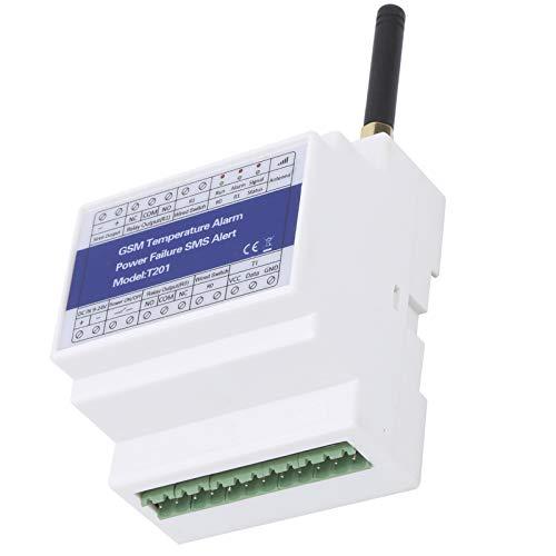 Alarma de temperatura, Detector de temperatura DC 9V-24V con control remoto, Informe de temporizador recargable para el exterior del hogar