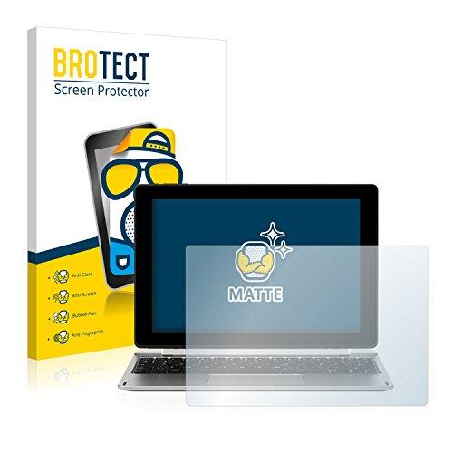 BROTECT 2X Entspiegelungs-Schutzfolie kompatibel mit Medion Akoya E1239T (MD 60195) Displayschutz-Folie Matt, Anti-Reflex, Anti-Fingerprint
