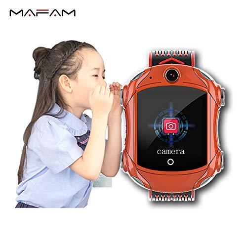 Df53 Super Cool Smart Watch Video Call Wifi Location 4g Net Work Gps Multiple Positioning Smartwatch For Children Blue