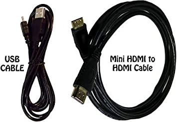USB cable and HDMI cable for Canon EOS 800D