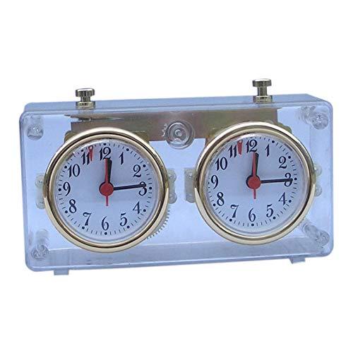 perfeclan 1pc Master Tournament Chess Clock Gift Reloj de Juegos de de Cuerda Portátil+Bolígrafo 0.5mm Recambios Gel Bolígrafo Escritura Oficina Escuela Gr