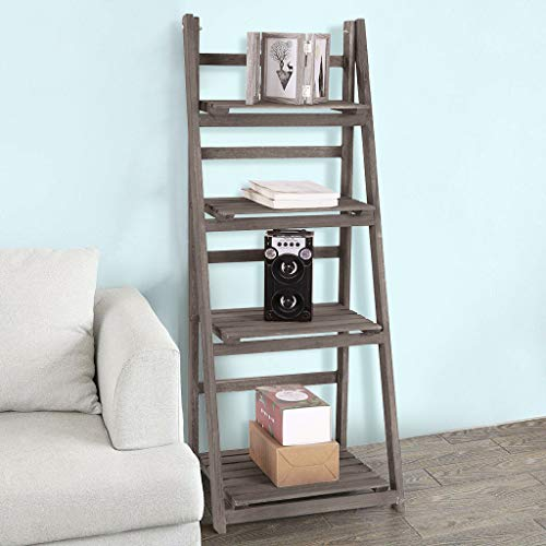 (80% OFF Coupon) Wood Ladder Shelf $40.89