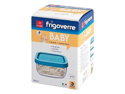 Bormioli Rocco Frigoverre Baby set 3 pezzi cm 10x10
