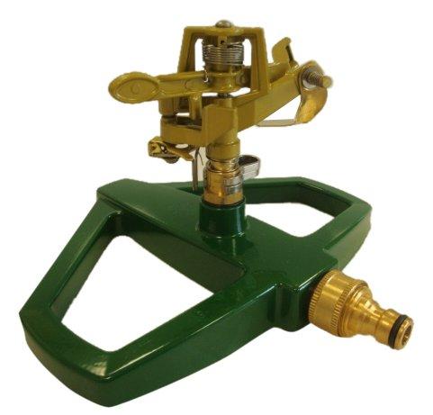Greenkey Pulsierender Rasensprenger, Metallsockel