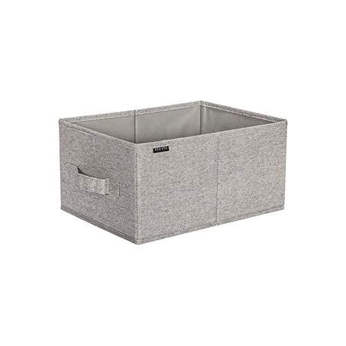 Opslag grote mand set, grote rechthoekige stof inklapbare Organizer Bin Box met draaggrepen voor linnen, Handdoeken, speelgoed, kleding, kinderkamer