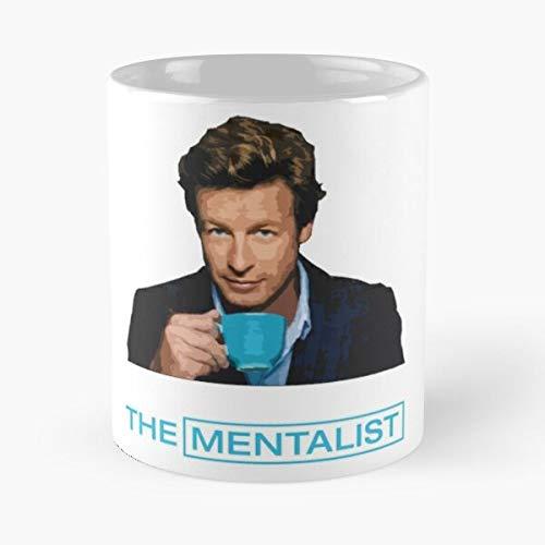 Jane Television El Patrick TV Mentalista Simon Series Show Movies The Mentalist Baker Best 11 Ounce Ceramic Coffee Mug Best 11 Ounce Ceramic Coffee Mug Migliore Tazza da caffè Regalo 11 oz !
