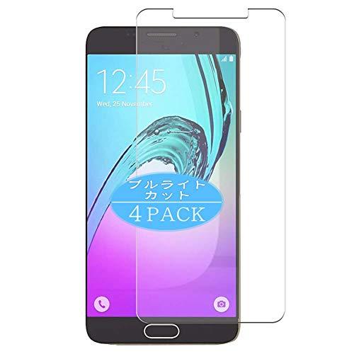 VacFun 4 Piezas Filtro Luz Azul Protector de Pantalla, compatible con Samsung Galaxy A5 2016 / A5 Plus A5100 SM-A510F, Screen Protector Película Protectora(Not Cristal Templado) NEW Version