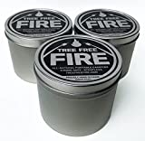Tree Free Fire - Portable Tabletop Fire Pit - All Natural Alternative to Gel Fuel cans | Tabletop Fire Bowl, Perfect Outdoor Fireplace