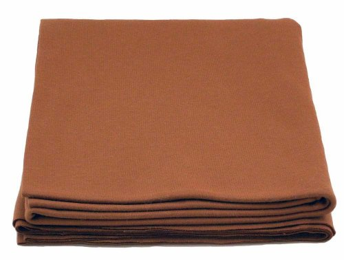 100% Cotton Knit Waldorf Doll Skin Fabric - One Yard Brown