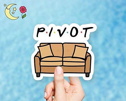 Pivot Vinyl Sticker