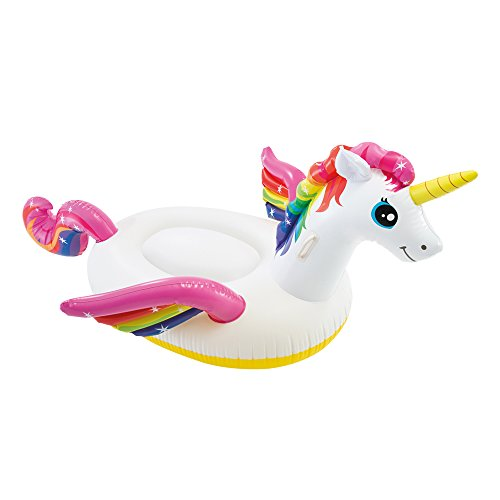 Intex 57561NP - Unicornio hinchable tamaño mediano 201x140x97 cm