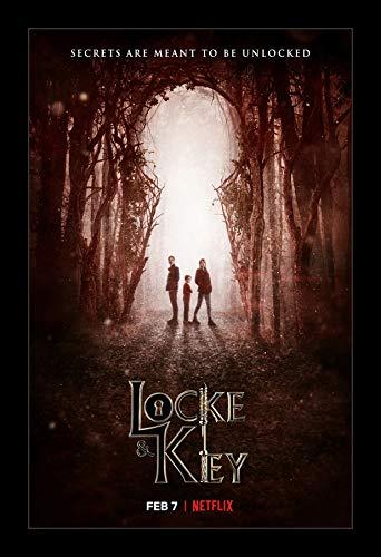Wallspace 11x17 Framed Movie Poster - Locke & Key