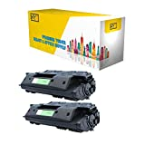 NYT Compatible High Yield Toner Cartridge Replacement for C8061X for HP Laserjet 4100,4100dtn,4100mfp,4100n,4100tn,4101mfp (Black,2-Pack)