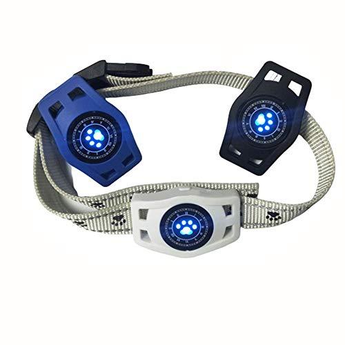 ASPORS 1 Packung Hundehalsband Haustier Ortung Tracker, Ortung für Hund und Katze Halsband, Dog Tracker & Activity Monitor tief wasserdichtes Laden (1X Tracker)-White