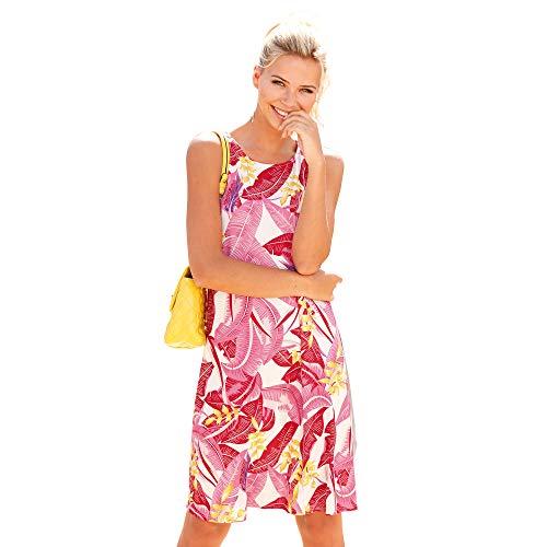 VENCA Vestido Estampado evasé Mujer by Vencastyle - 024392