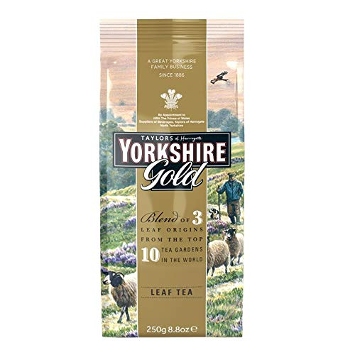 Taylors of Harrogate Yorkshire Gold Tea leaf 250g - loser schwarzer Tee