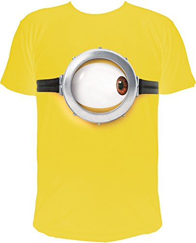 MINIONS T-Shirt Stuart Auge, gelb (XL)