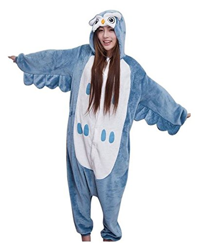 Kigurumi Adulto Costumi Animali per Carnevale Halloween o...