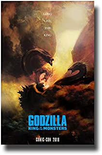 Godzilla Poster Movie Promo 11 x 17 inches King of The Monsters Comic Con 2018