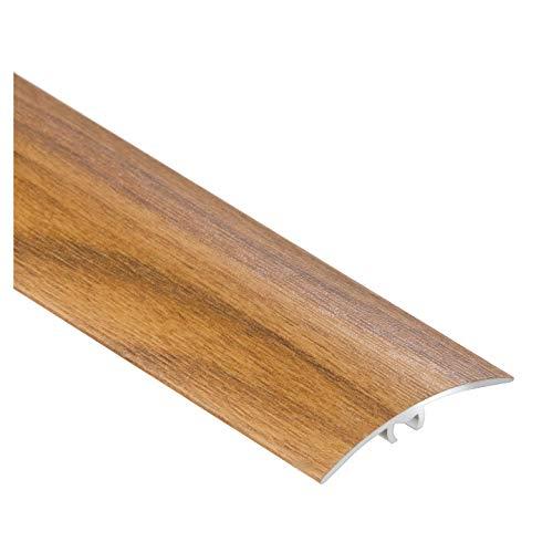 CEZAR W de al de LW40de RZ de tira protectora 090/übergangsschiene/Perfil de transición con laminado/madera tacos 40mm, nogal Oro