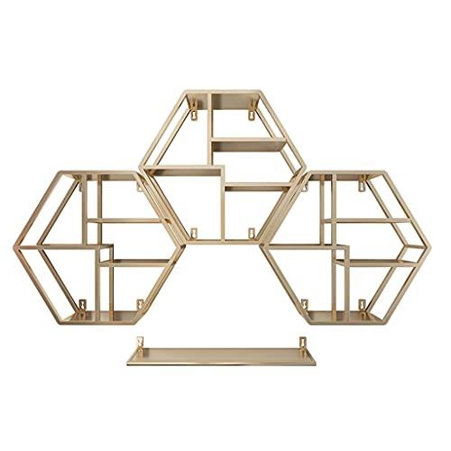 Display stand ZYY~ Boîte de Rangement Murale pour vitrine de Vernis à Ongles en métal, Support de Vernis à Ongles pour Salon de manucure, Présentoir cosmétique d'art de Mur de boîte de Rangement
