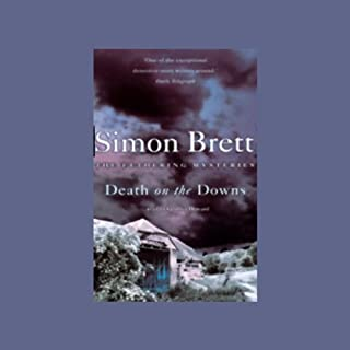 Death on the Downs audiobook cover art