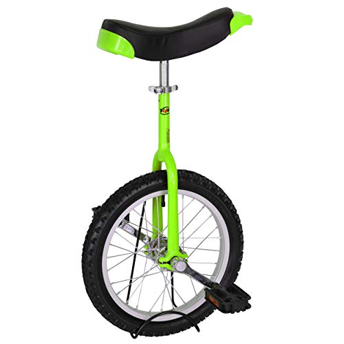 Buy Discount T4B Freestyle Unicycle 16-Inch Wheel - Leakproof Butyl Wheel Tire - Outdoor Sports Fitn...