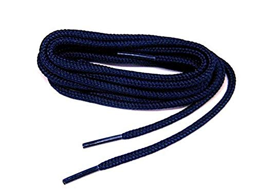 Lacci Per Le Scarpe Rotonda Spesso Collonil Kordel Durevole 90 cm Blu Marino