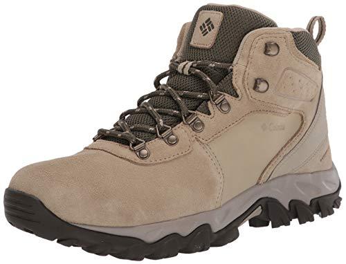 Columbia Men's Newton Ridge Plus II Suede Waterproof Hiking Boot, Twill/Nori, 11 Regular US